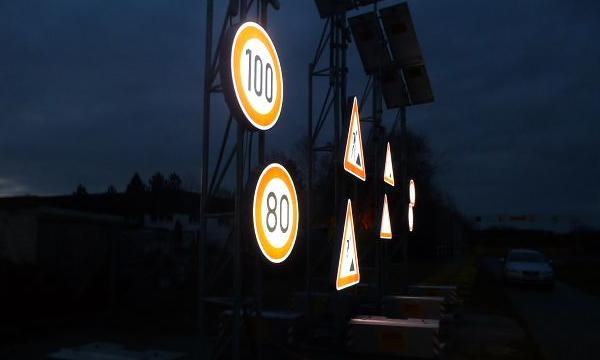 В Москве установили более 6 тысяч светящихся дорожных знаков