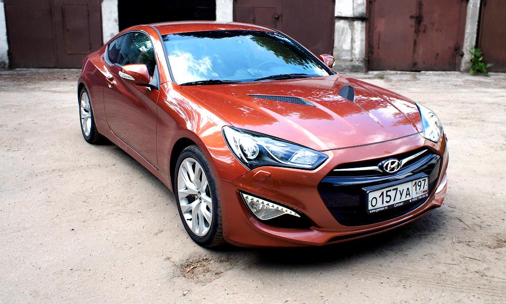 Разрушитель мифов. Тест-драйв Hyundai Genesis Coupe