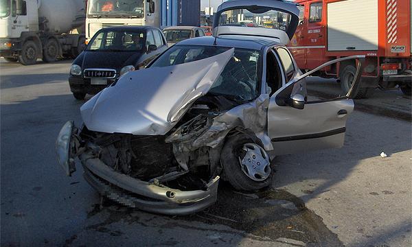 Авария с участием 18 машин произошла в Подмосковье