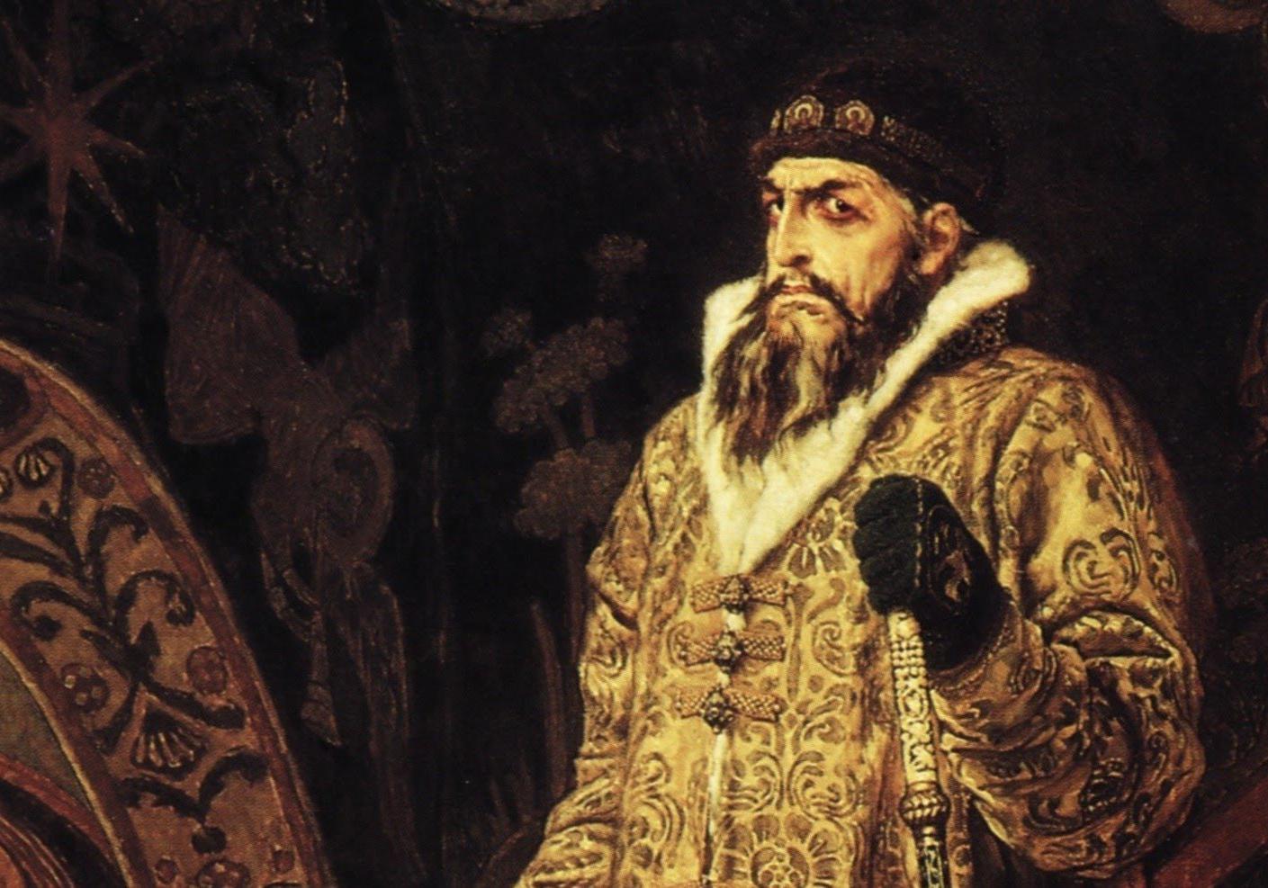Фрагмент картины В. М. Васнецова «Царь Иван Грозный», 1897
