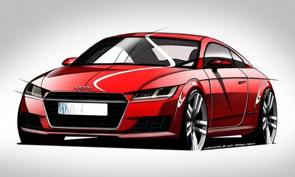 Новую Audi TT выполнили в стиле внедорожного концепта