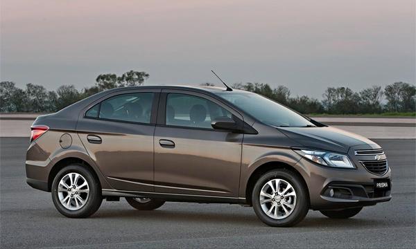 Chevrolet показал новый бюджетный седан Prisma
