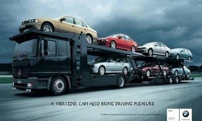 Рекламные войны: Audi наносит ответный удар