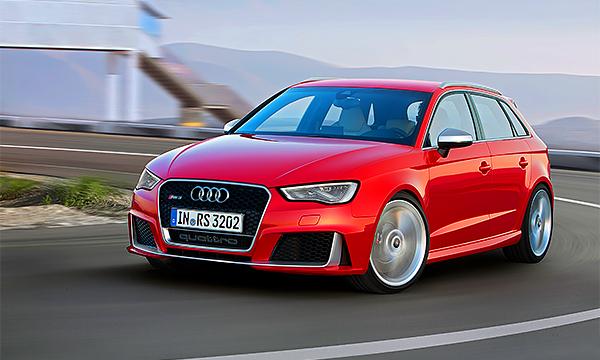 Audi RS3 и еще 4 очень быстрых хэтчбека