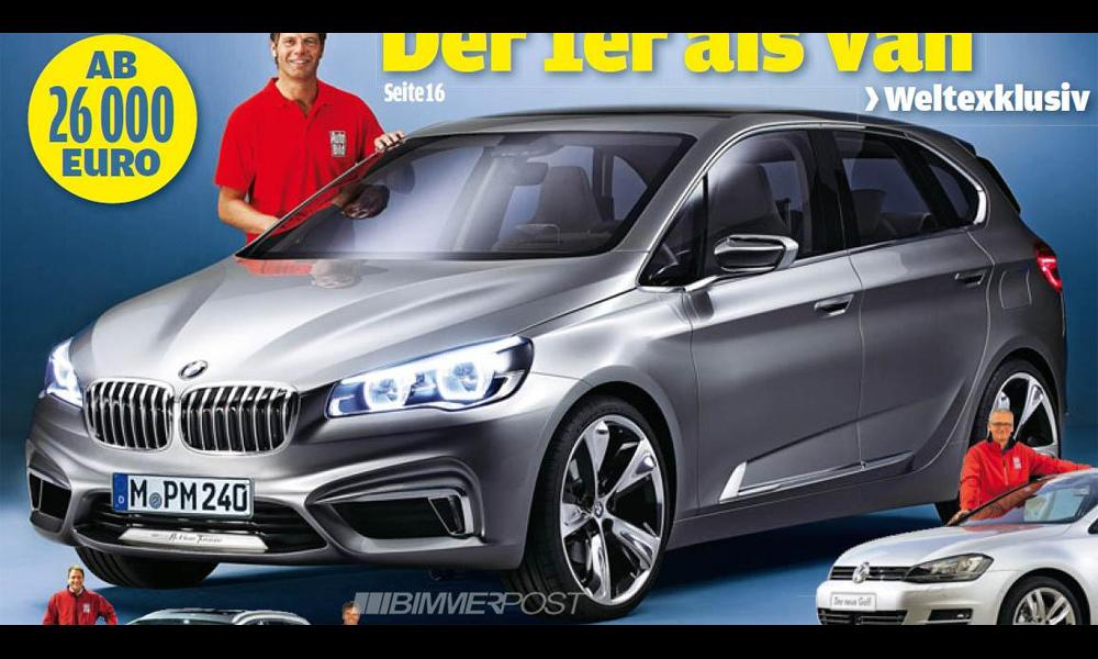Журналисты рассекретили прообраз BMW 1-ой серии GT