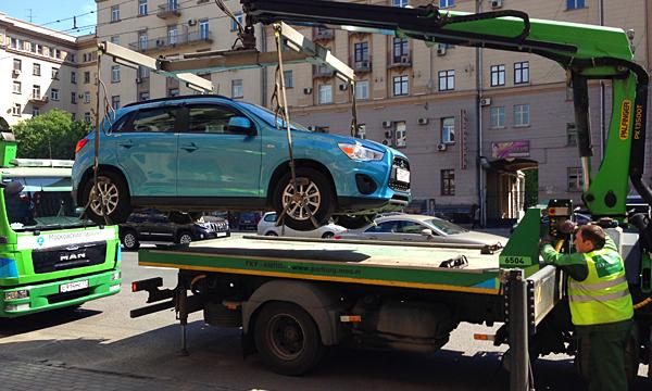 Стоимость эвакуации автомобиля привяжут к его массе