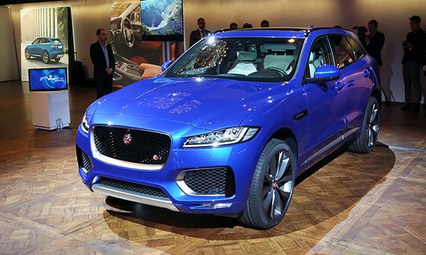 Jaguar F-Pace стал одним из самых вместительных в классе