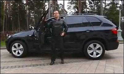 Кто подставил Медведева на тонированном BMW X5