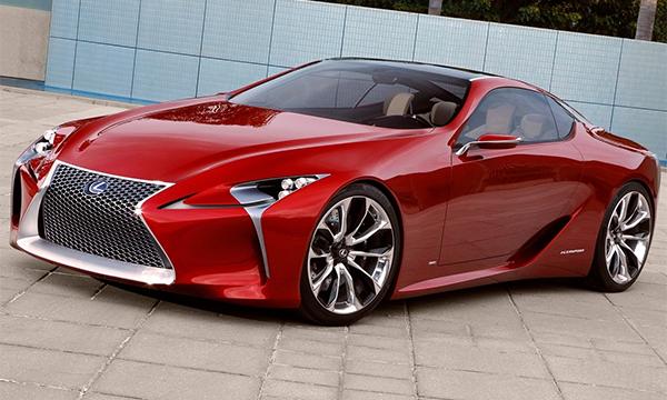 Lexus покажет новый флагманский спорткар на автосалоне в Детройте