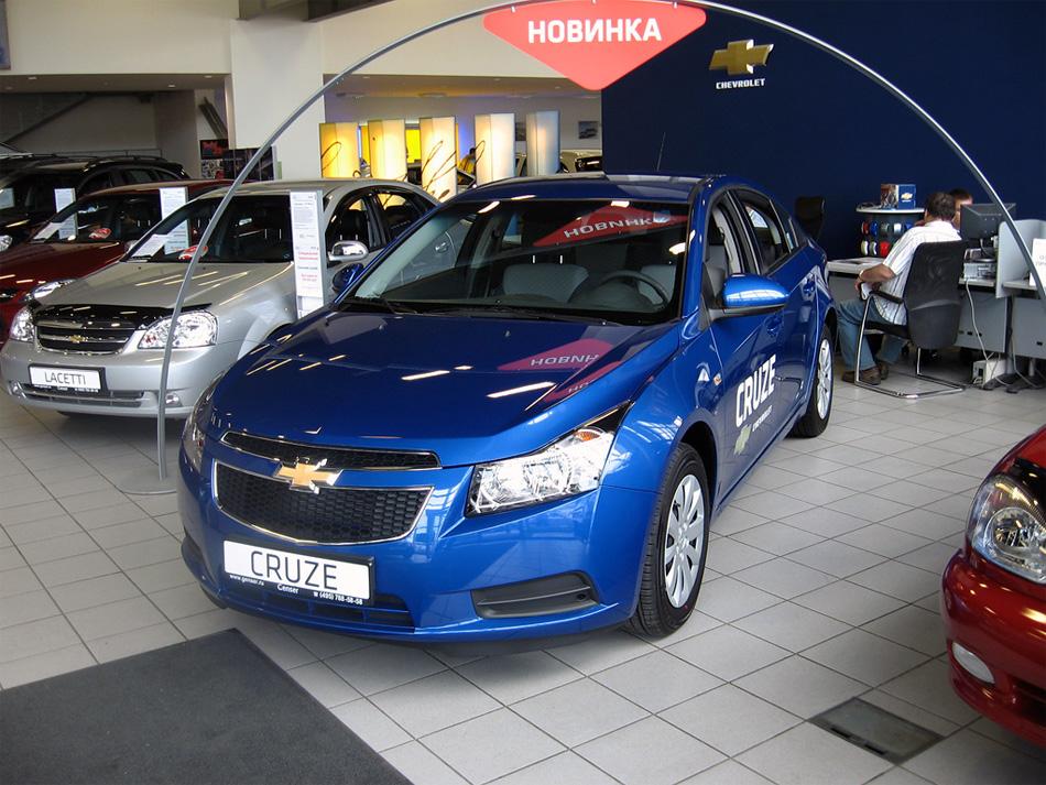 Chevrolet Cruze: смотреть и покупать!