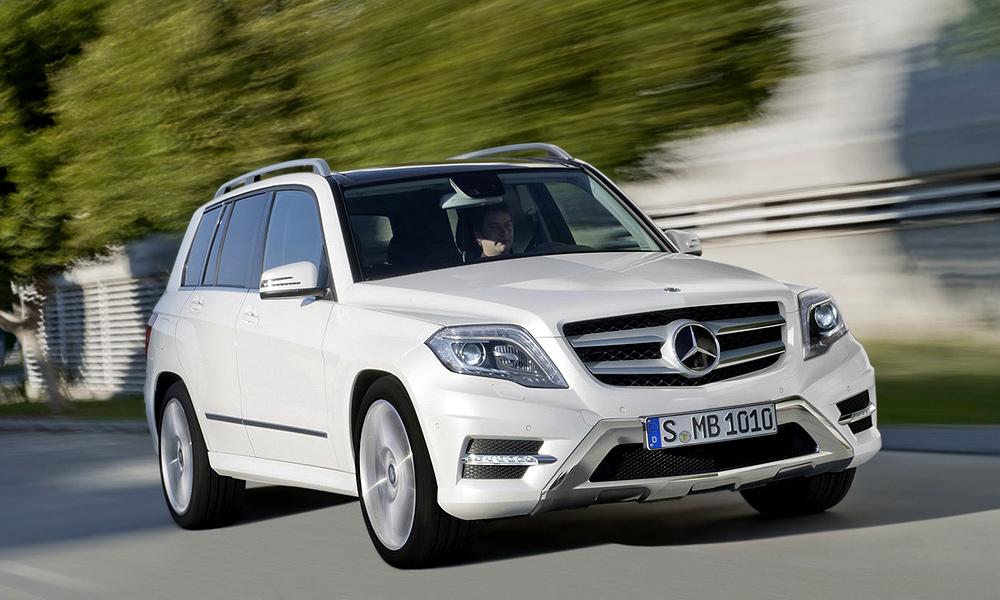 Mercedes-Benz GLK: причесали и представили публике