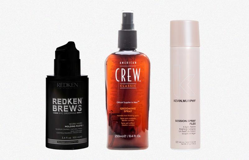Моделирующая паста для волос Redken Brews Спрей для укладки волос Grooming Spray American Crew Лак для укладки подвижной фиксации Kevin.Murphy
