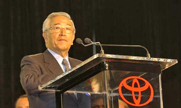 В Японии скончался легендарный руководитель Toyota