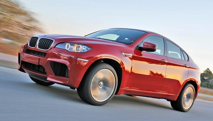 BMW X6 M провоцирует на восклицание: «Я – король мира!»