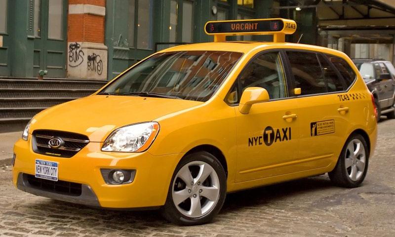 В автопарке Нью-Йоркского такси появится Kia Rondo