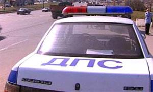 В машинах ДПС появились наклейки: «Взятка – это преступление»
