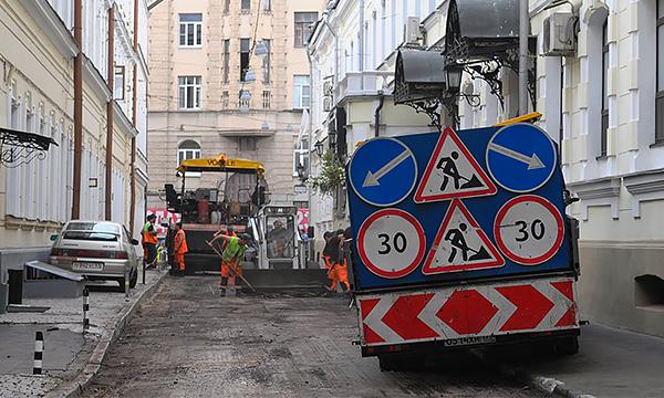В Москве могут начать строить бетонные дороги