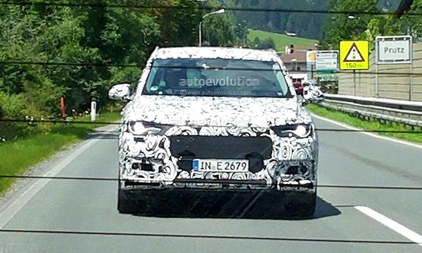 Audi приступила к тестам нового Q7