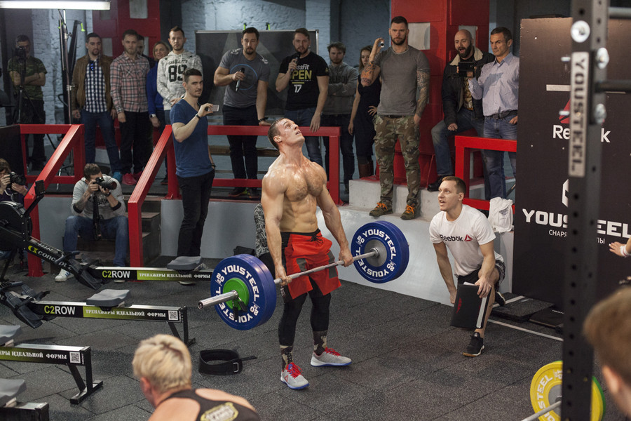 Фото: пресс-служба  MSK CrossFit & Fight Club