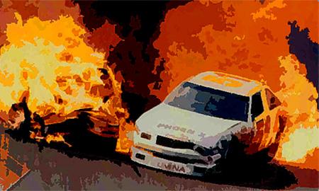 Москва жжет: уничтожено уже 100 автомобилей