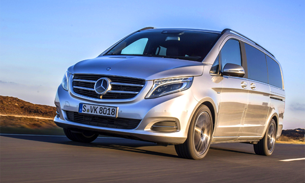 Микроавтобус Mercedes-Benz V-Class получил полный привод