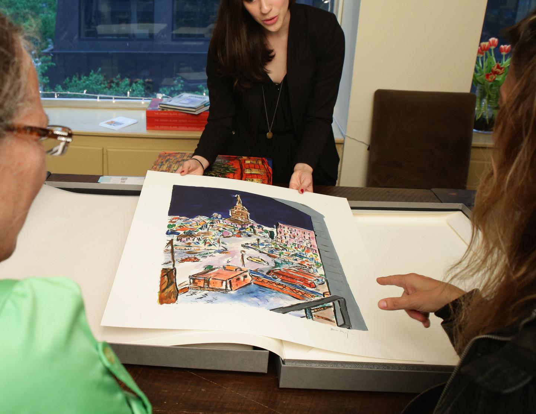 Выставка работ Боба Дилана «The Drawn Blank Series»