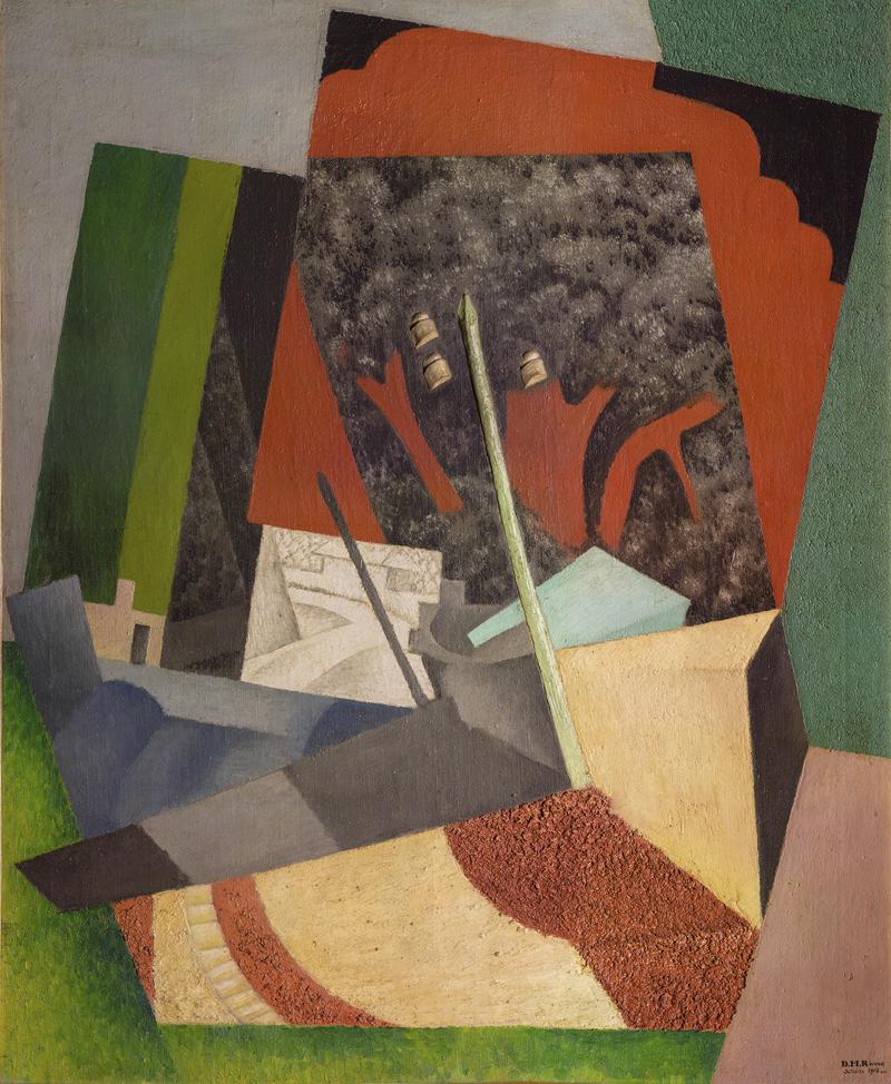 Диего Ривера. «Телеграфный столб», 1916.