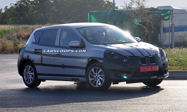 Nissan приступил к тестам конкурента Volkswagen Golf