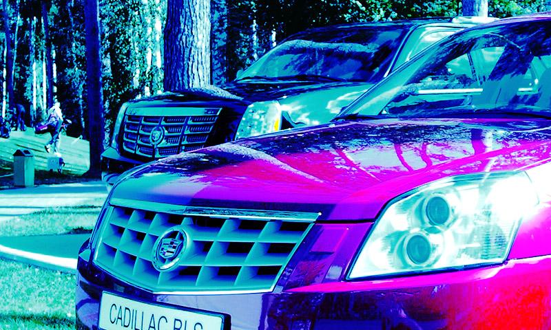 Cadillac Escalade и BLS засветились в Москве