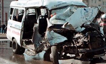 В Москве в ДТП с участием маршрутки пострадали 8 человек