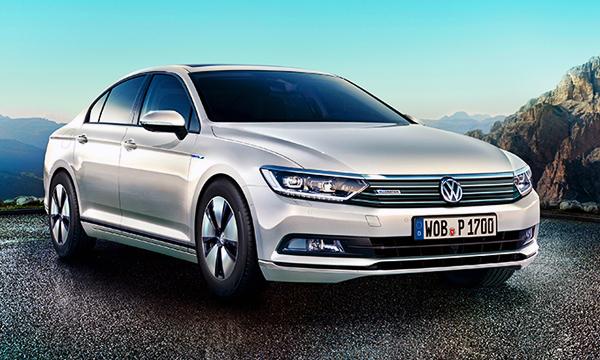 Volkswagen представил самый экономичный Passat с ДВС
