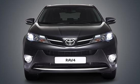 Показалось: первые фото Toyota RAV4 следующего поколения