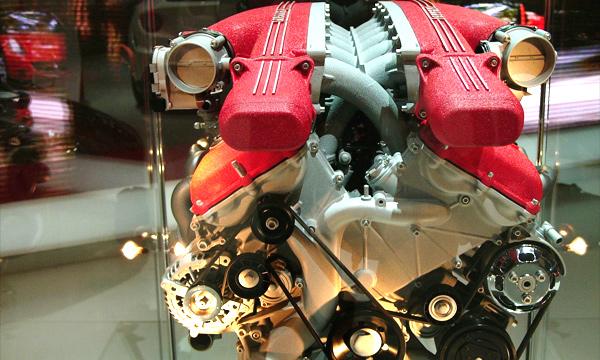 Пять самых красивых двигателей в мире