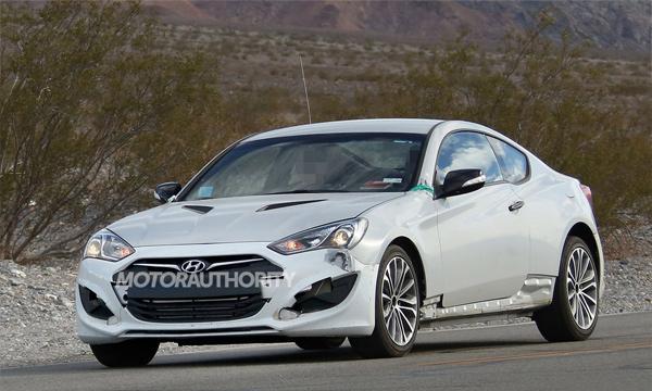 Первые фотографии нового Hyundai Genesis Coupe появились в сети