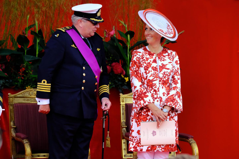 Принц Лоран Бельгийский иКлэр Бельгийская