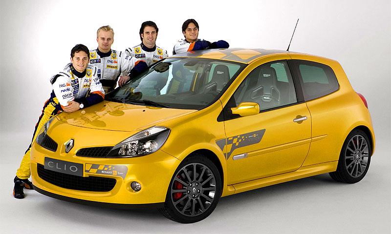 Renault представляет Clio Renault F1 Team R27