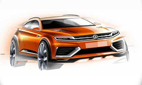 Volkswagen Tiguan превратят в конкурента Range Rover Evoque