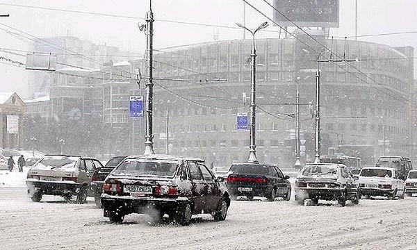 Снегопад впервые прошел без коллапса