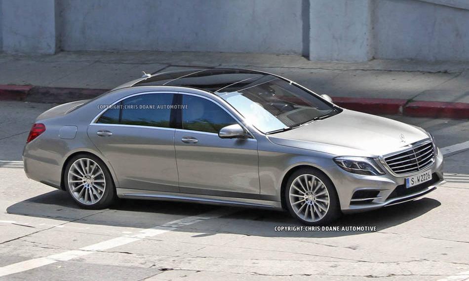 Каким будет флагман Mercedes