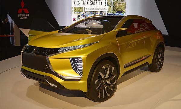 Mitsubishi представила конкурента Nissan Juke