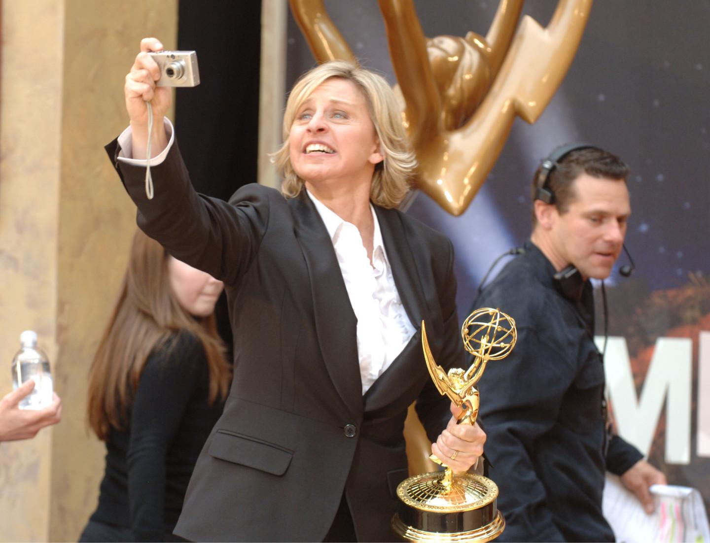 На красной дорожке 33-й Дневной премии «Эмми», 2006
