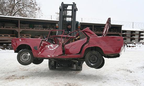 Утилизировать автомобили готовы лишь в 4 регионах России