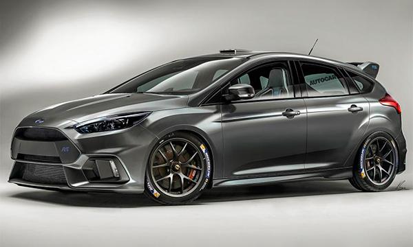 Ford превратит Focus RS в самый быстрый хэтчбек в мире