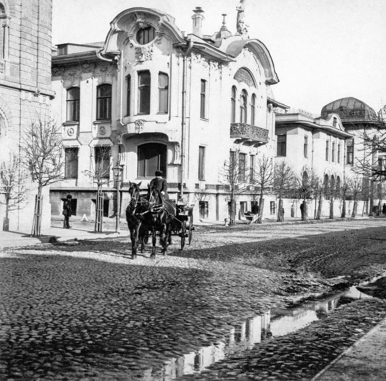Особняк Ивана Миндовского на Поварской улице (архивная фотография)