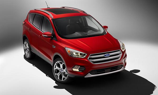 Ford обновил кроссовер Escape