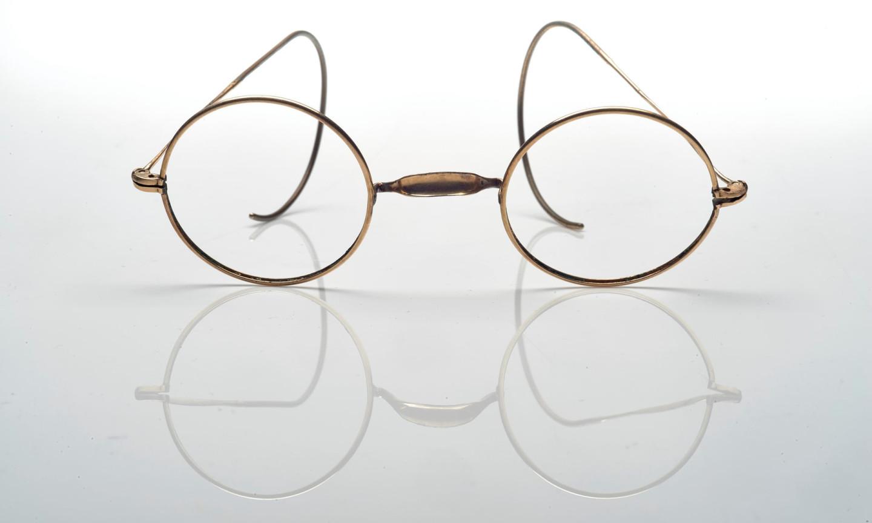 Очки, которые носил художник