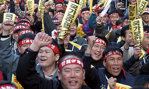 Рабочие Kia присоединились к забастовке Hyundai
