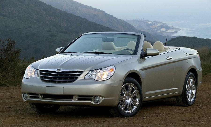 В России стартуют продажи кабриолета Chrysler Sebring