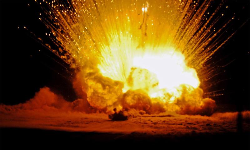 В Саратове взорвался бензовоз, сгорело 30 машин