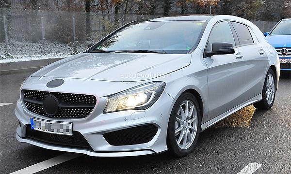 Переднеприводный универсал Mercedes-Benz заметили без камуфляжа